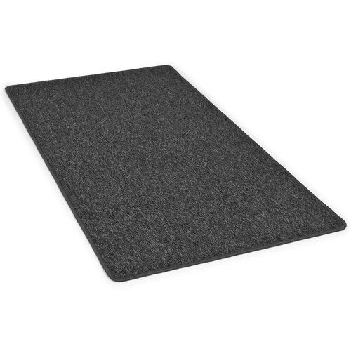 Shaggy-Teppich in Anthrazit ClearAmbient Teppichgröße: Rechteckig 80 x 150 cm