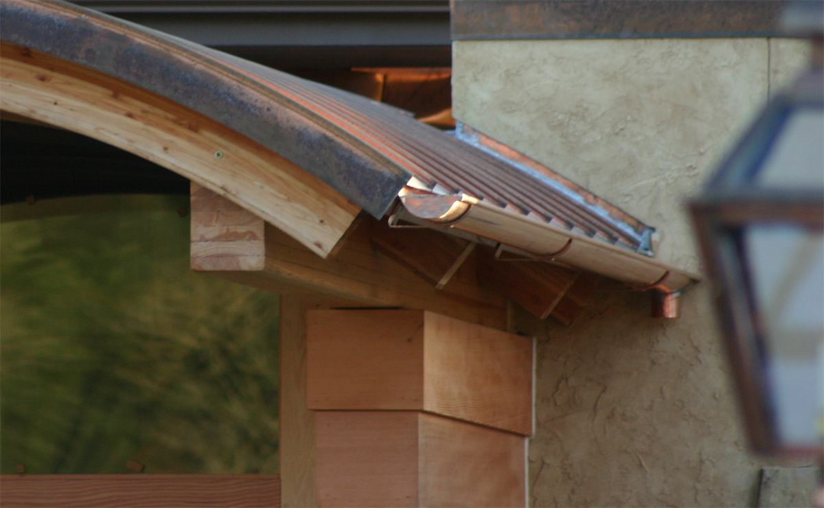 Wrought Copper And Such Portland Oregon Copper Roof Copper Gutters Gutters