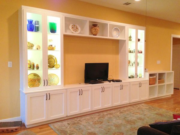 Using Stock Cabinets For Entertainment Center Google Search