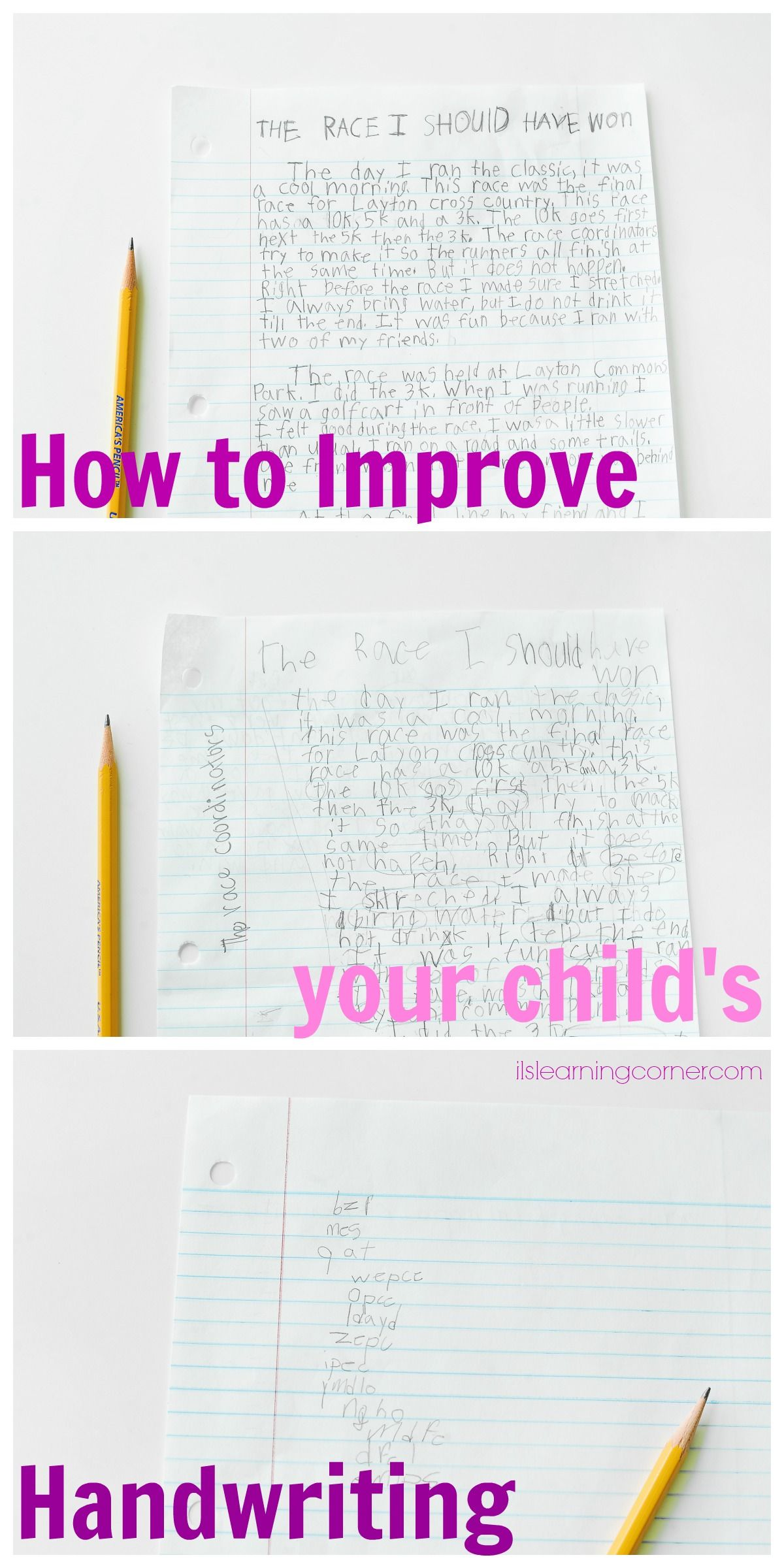 Handwriting Results Show Importance Of Child S Fine Motor Skills Development