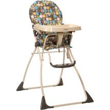 Walmart Cosco Slim Fold High Chair Into The Woods High Chair Folding High Chair Chair