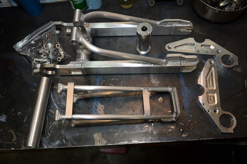 Aluminum components Bicikli