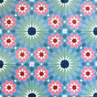 Stock Online De Carreaux Ciment En Motif Motif Pinterest - Plinthe carrelage et tapis flower