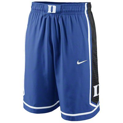 f0978e7b8c74 Duke Blue Devils Royal Nike Authentic Basketball Shorts
