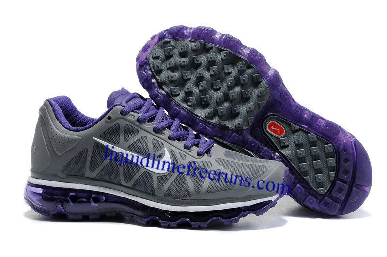 womens nike air max 2011 netty Womens Nike Air Max 2011 Charcoal Purple White Sneakers | Nike ...