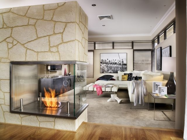 ecosmart kamin glas wohnzimmer stein teppichboden kamin - wohnzimmer kamin ethanol