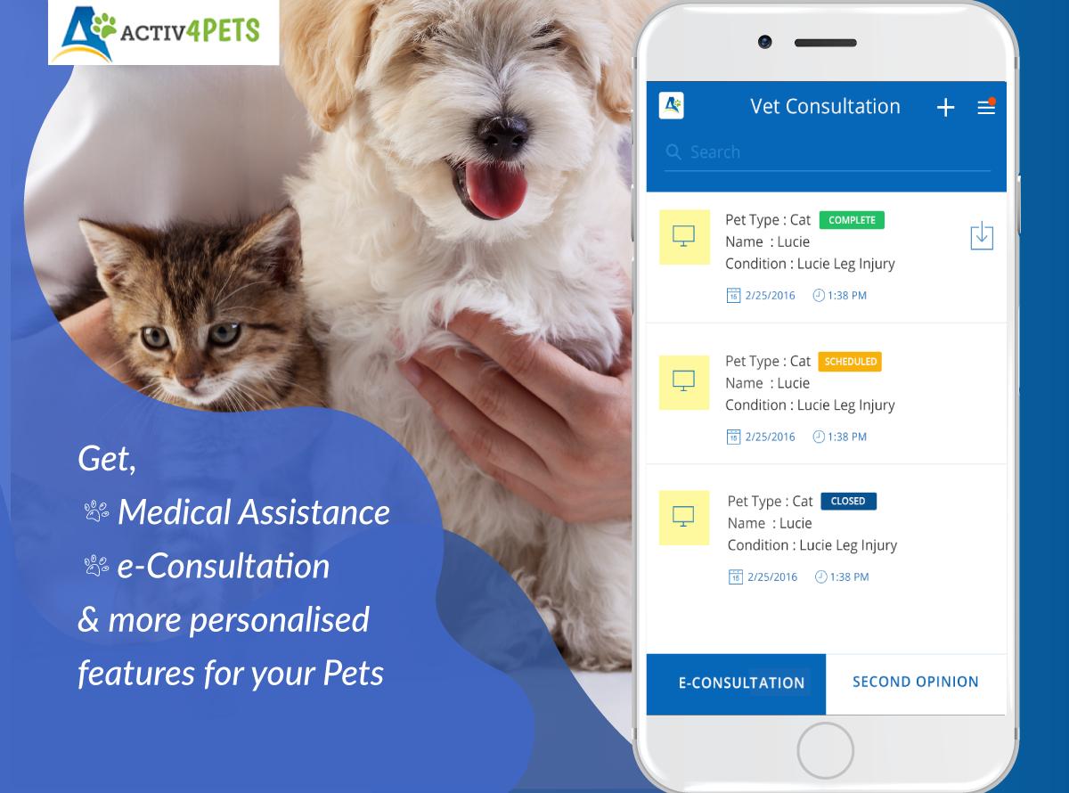 Home Health App Pet Wellness Wellness Apps