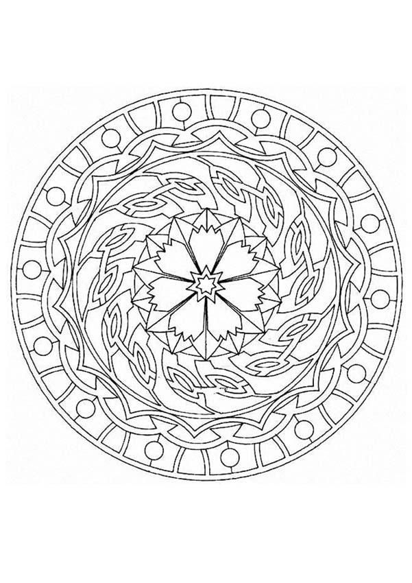 Tons of printable mandalas without watermarks. Also, there is an ...