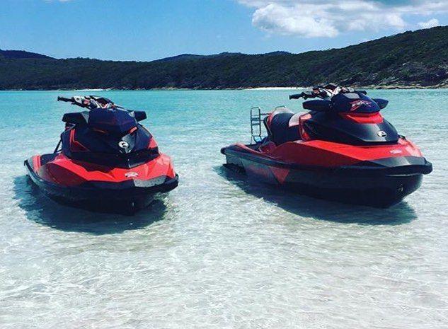 Amazing pic by @phoenix_powersports_mackay  at the world famous Whitehaven Beach.  #phoenixpowersport #watersportsnation #pwcjournal #seadoo #greatbarrierreef #queensland #australia #jetski #ocean #beach #clearwater #whitehavenbeach #whitsundays #island by jetskiaustralia http://ift.tt/1UokkV2