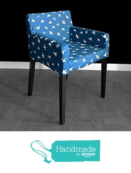 Amazing Ikea Nils Chair Cover Bird Silhouette Navy From Rockin Pdpeps Interior Chair Design Pdpepsorg