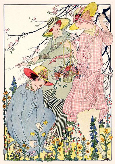 Ladies of the garden