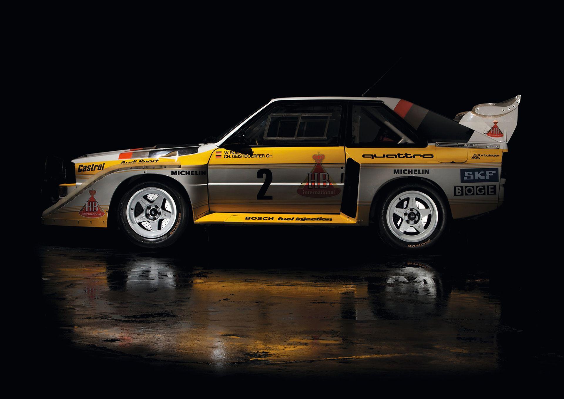 Audi Sport quattro S1 FIA Group B Rally Car 1985