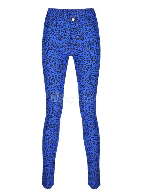 Jeans For Women Fashion Printed Skinny Jeans