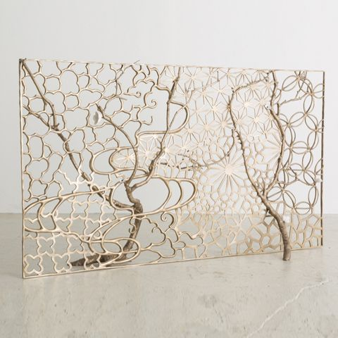Other Objects David Wiseman Fireplace Screens Decorative Metal Screen Modern Fireplace Tools
