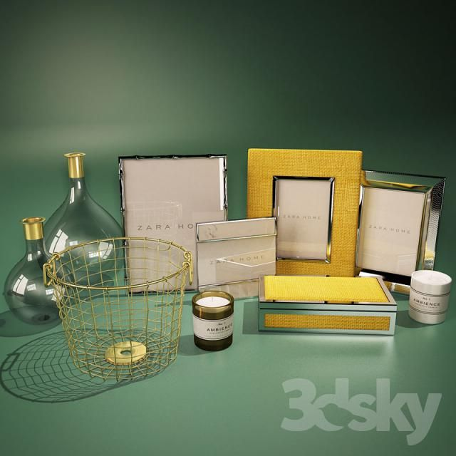 Accessories ZARA HOME and H & M HOME