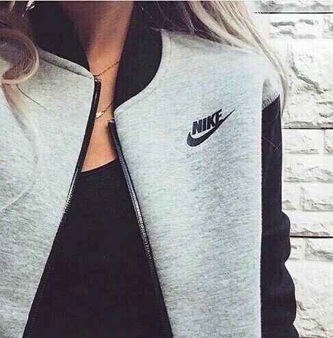 #sportive #nike #grey #fashion #casual