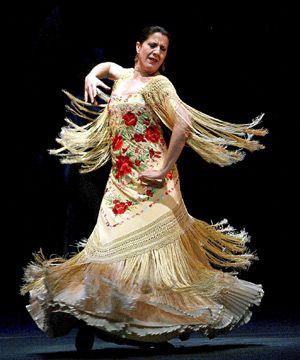 Actuación de la bailaora María Pagés.