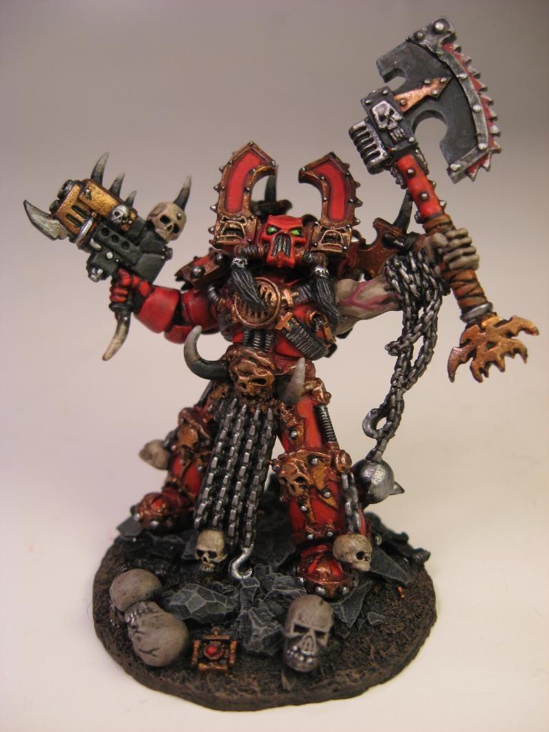 40k Khan The Betrayer By Machinator Via Dakkadakka Warhammer Art Warhammer 40k Figures Warhammer 40k Miniatures