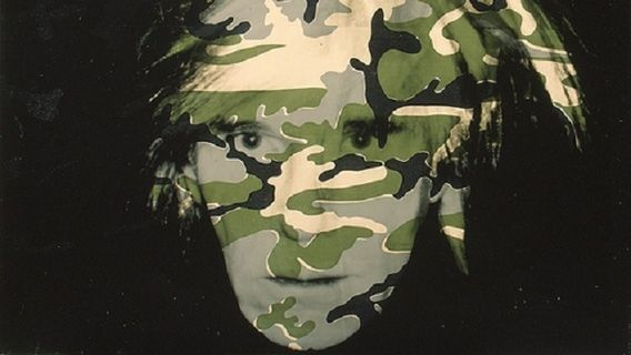 andy warhol camouflage self portrait 1986 paintings. Black Bedroom Furniture Sets. Home Design Ideas