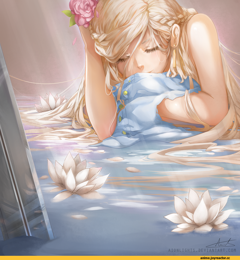 Аниме спящая девушка картинки