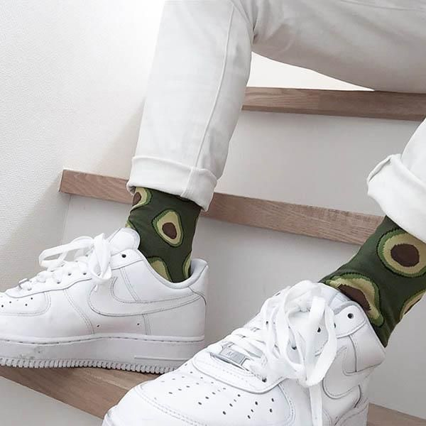 94ba60f7153 Aesthetic avocado and fashion image SHOES and SOCKS