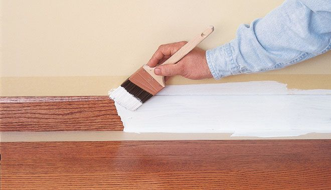 How To Paint Woodstained Or Varnished Surfaces Wood Diy