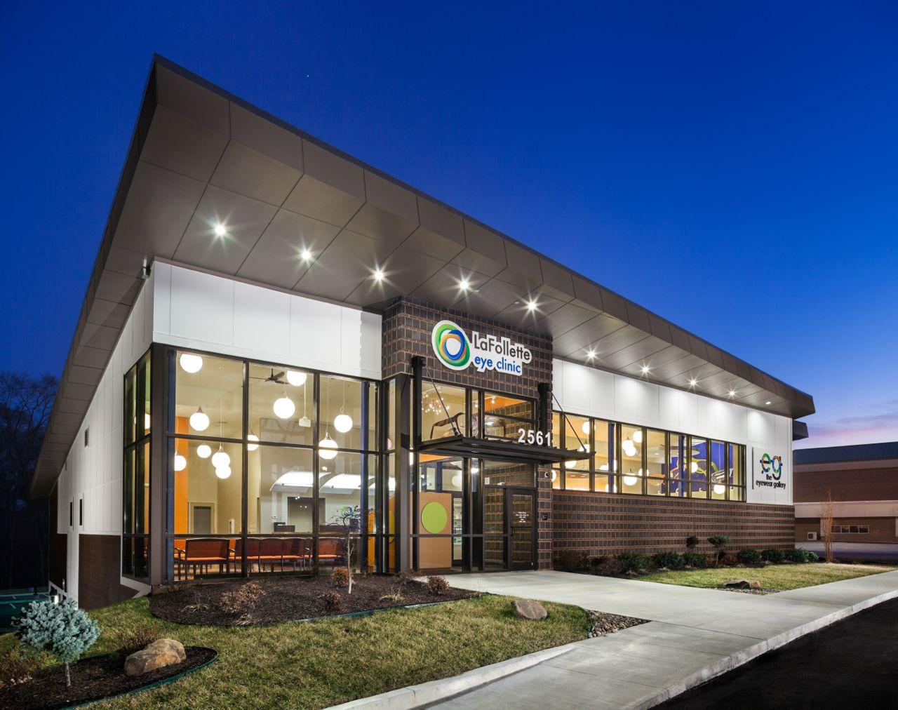 LaFollette Eye Clinic | Optical Office Design | Barbara ...