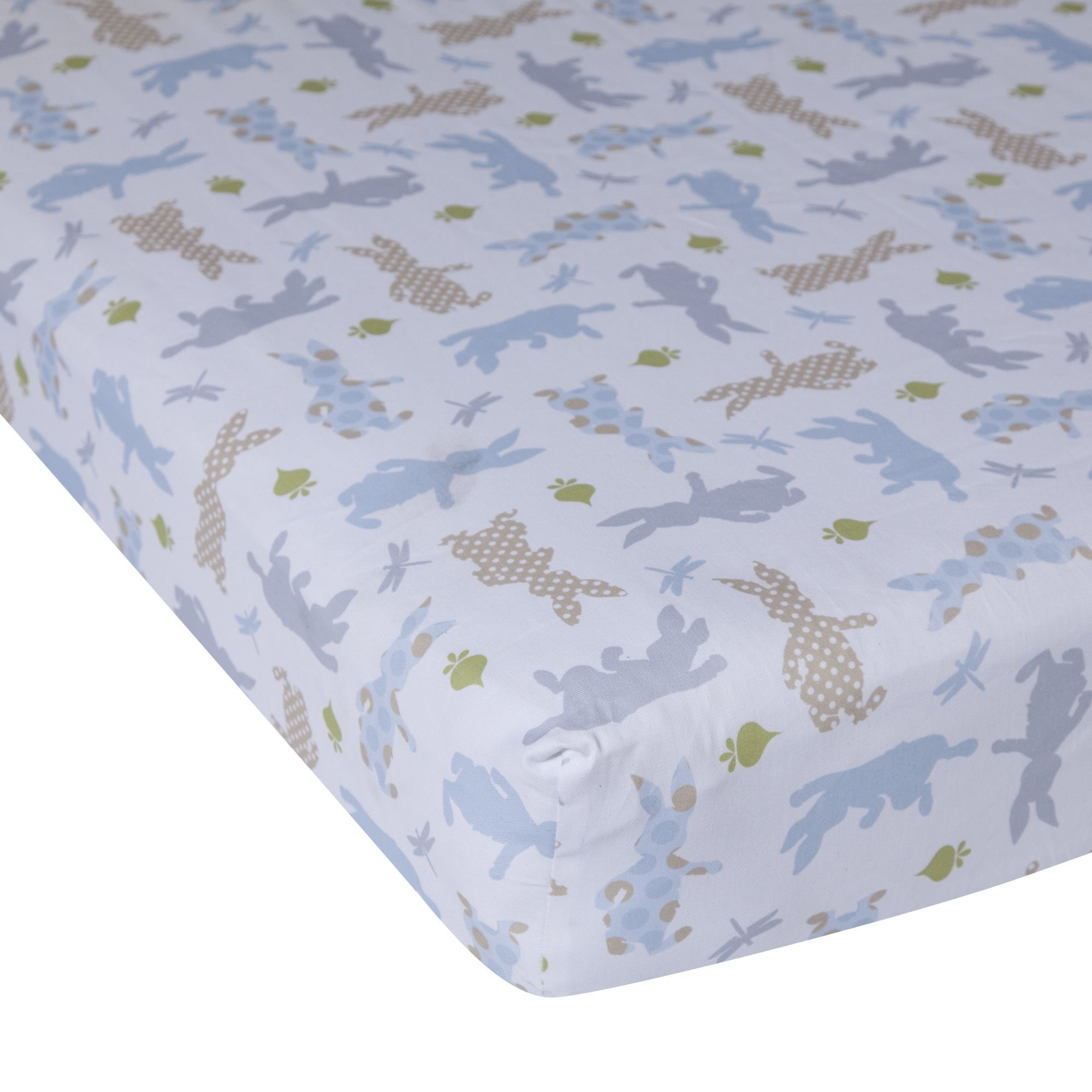 Peter Rabbit Crib Fitted Sheet