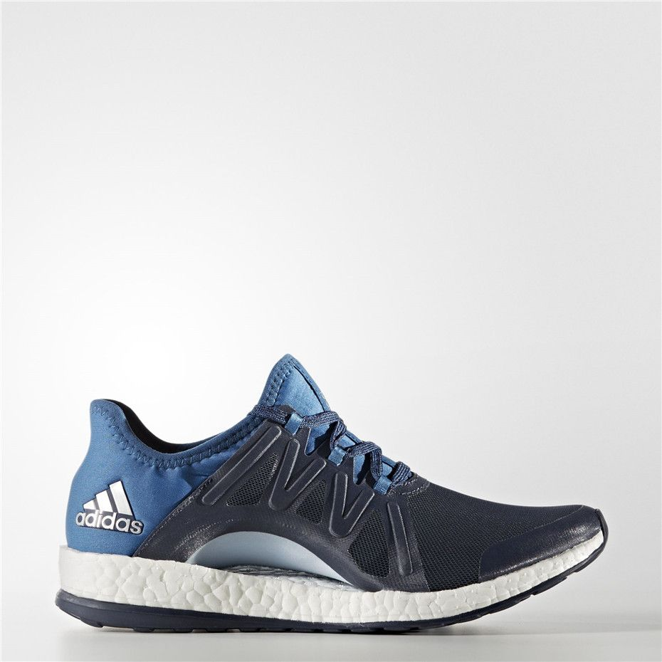 pretty nice b5c2e 33370 Adidas PureBOOST Xpose Shoes (Midnight Grey   Core Blue   Easy Blue)
