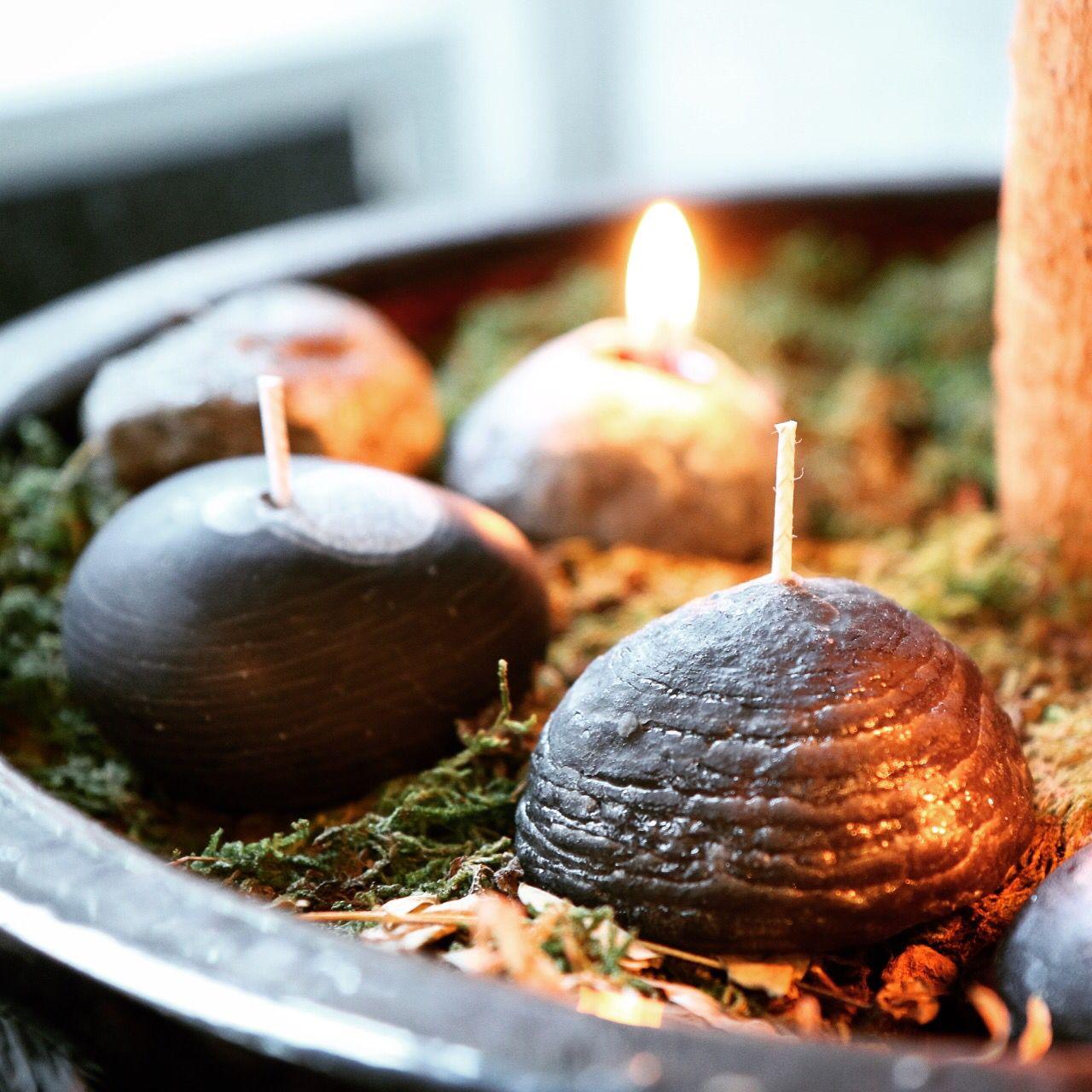Stone candle