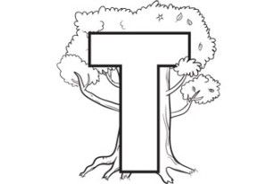 Letter T Coloring Page Free Alphabet Coloring Pages For Children Alphabet Coloring Pages Letter T Activities Alphabet Coloring
