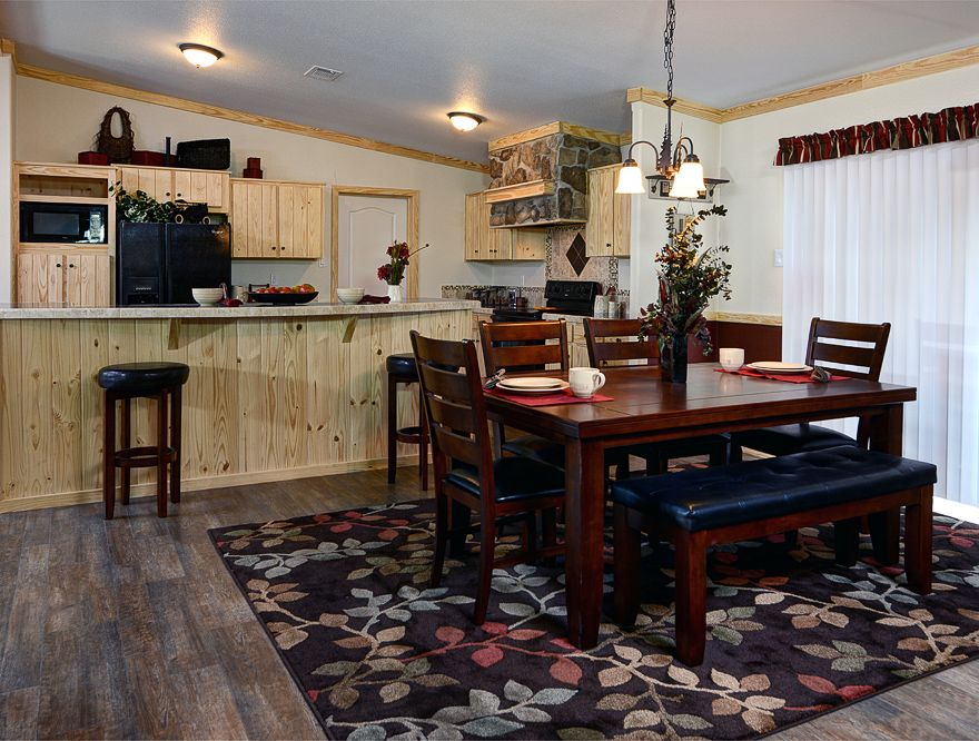 This large threebedroom mobile home offers a bonanza of