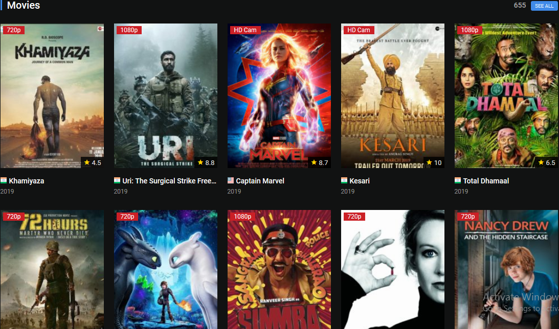 Free Movie Streaming Sites 2019 Watch Free Movies Online