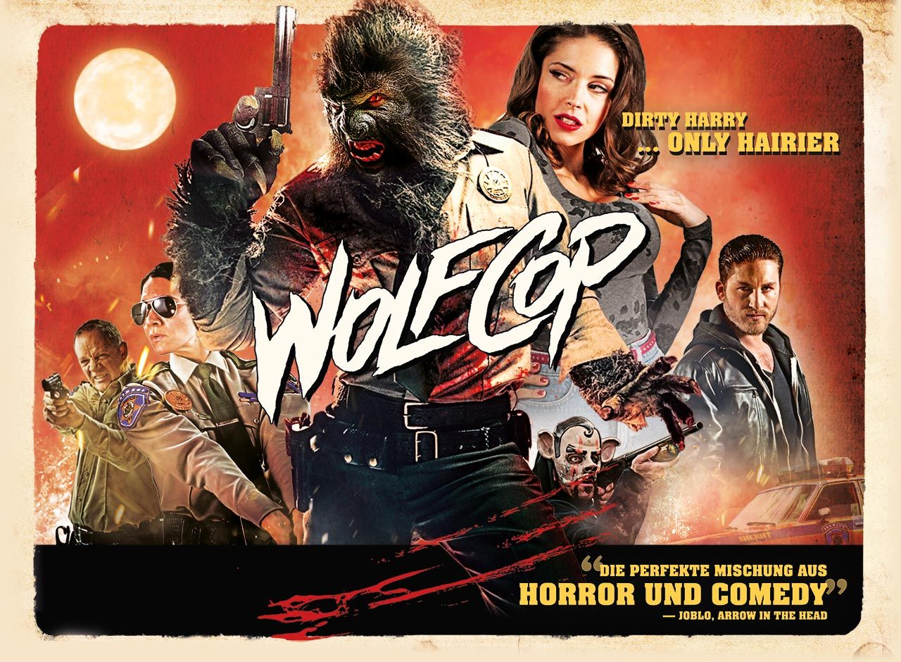 WolfCop (2014)…A Fun Canadian Horror Comedy With Just a