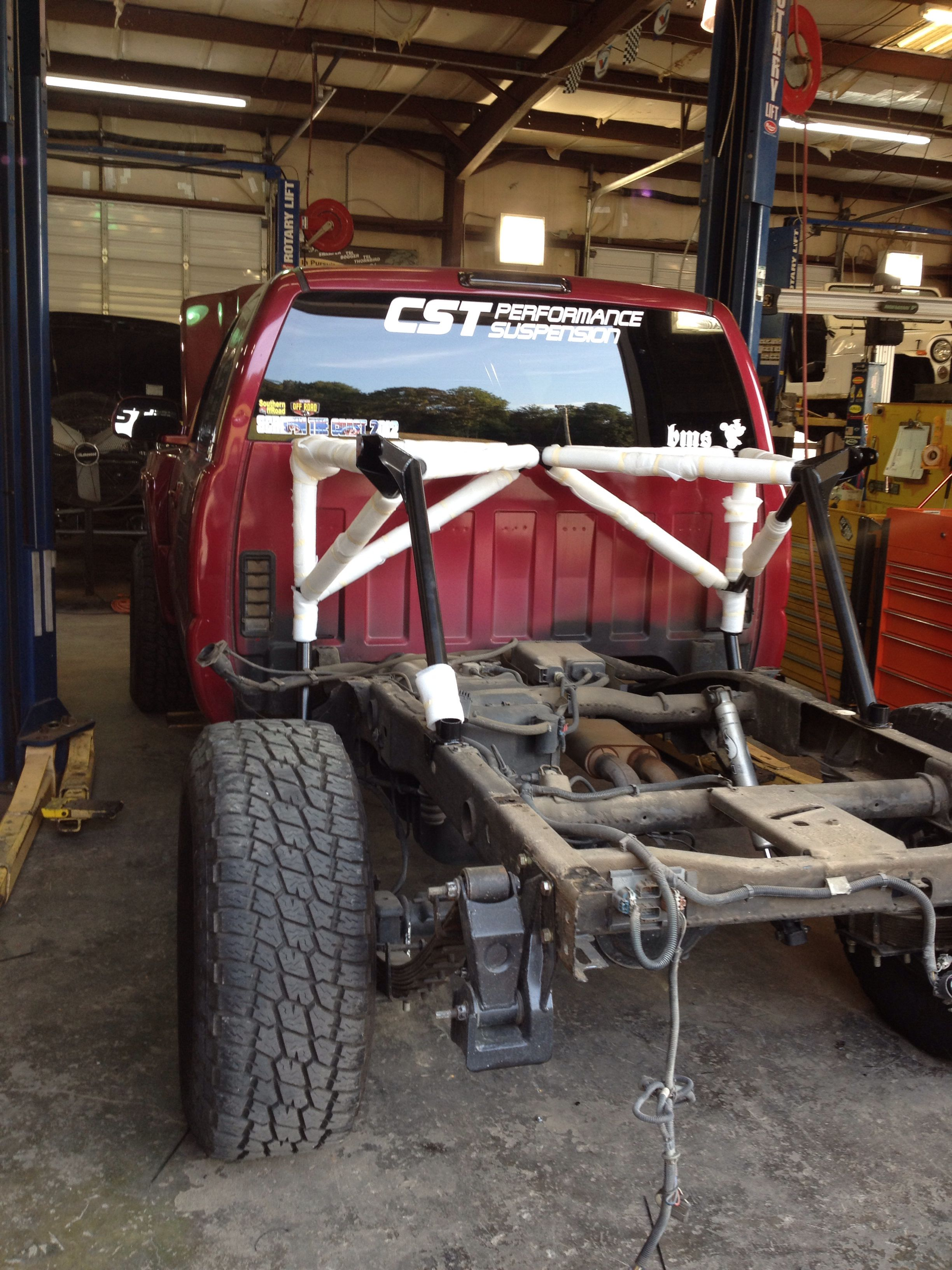 Silverado prerunner with bed cage going in. | Silverado ...