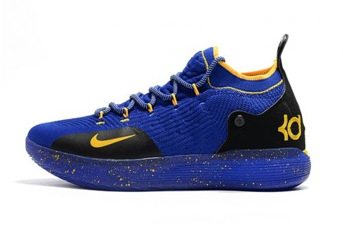 new product b30ce 1405e Discount Kevin Durants Nike KD 11 Purple Black Yellow Basketball Shoes For  Sale - ishoesdesign