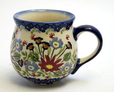 The Medium Belly Mug - Floral Fantasy