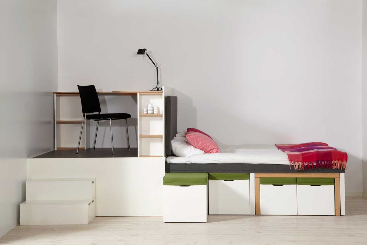 Living Rooms Matroshka Multipurpose Furniture For A Small Space