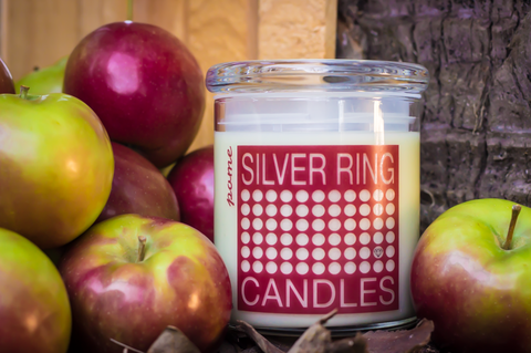 Pin on >>> Silver Ring Candles