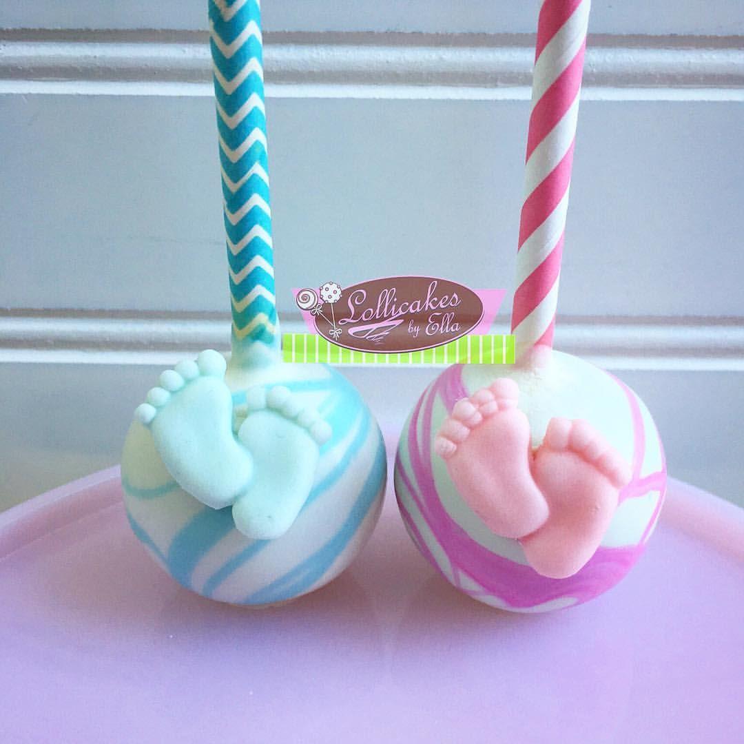 Gender Reveal Cake Pops With Images Baby Shower Cake Pops