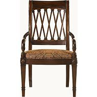 This Chair Is Carved Lattice Design. At Kathy Adams Interiors, Plano, TX
