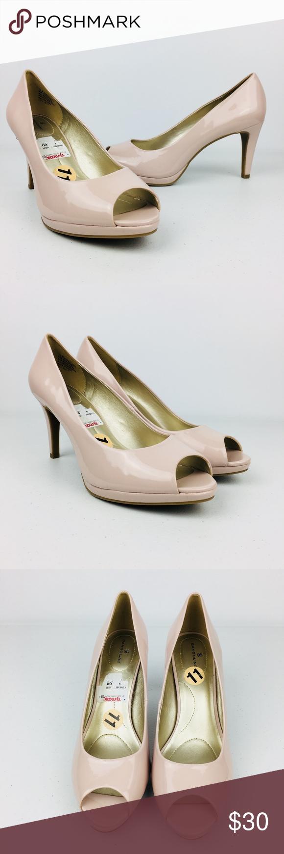 ⭐️NEW Bandolino Peep Toe Pink Blush