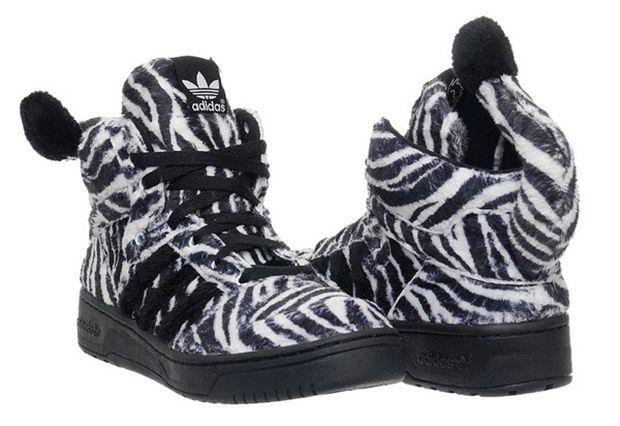 Basket Adidas Jeremy Scott Zebra