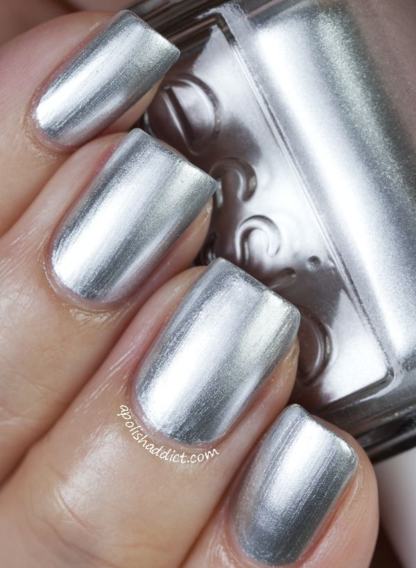 Essie Mirror Metallics Collection Swatches | A Polish Addict | Nails ...