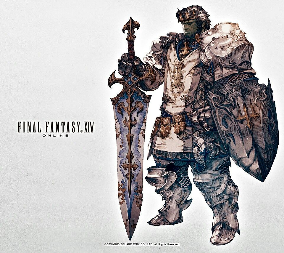 Paladin Ff14 | Video game stuff | Fantasy concept art, Art