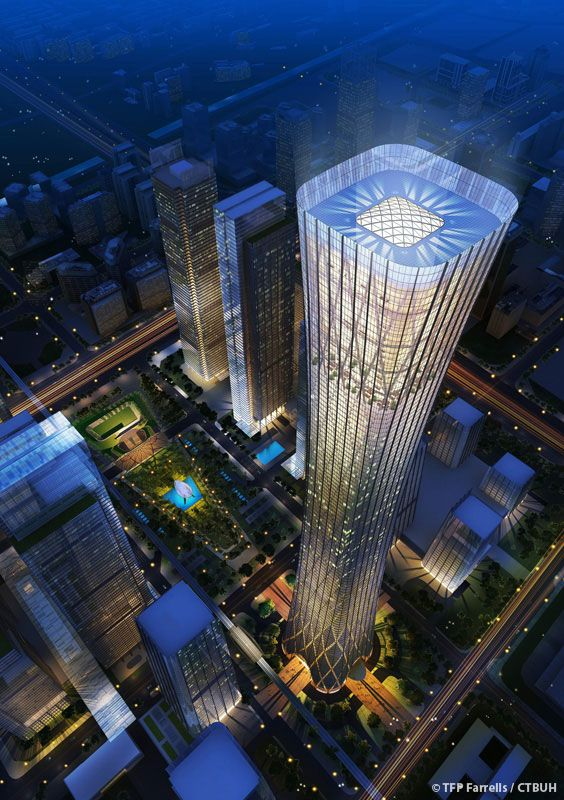 proposed ... Zhongguo Zun (aka China Zun / CITIC Plaza / Z15 Tower) | Beijing (  北京 ) , China ( 中国 / 中华人民共和国 ) | Architect: TFTP Farrells
