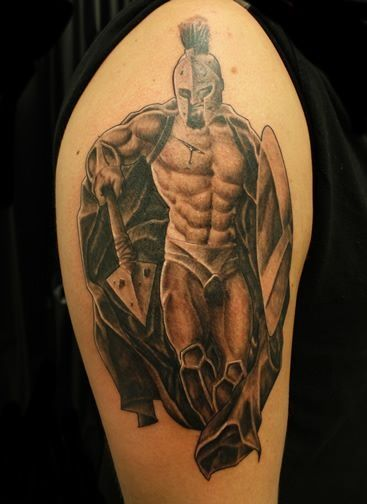 On pinterest armors viking warrior tattoos and warrior for Italian warrior tattoos