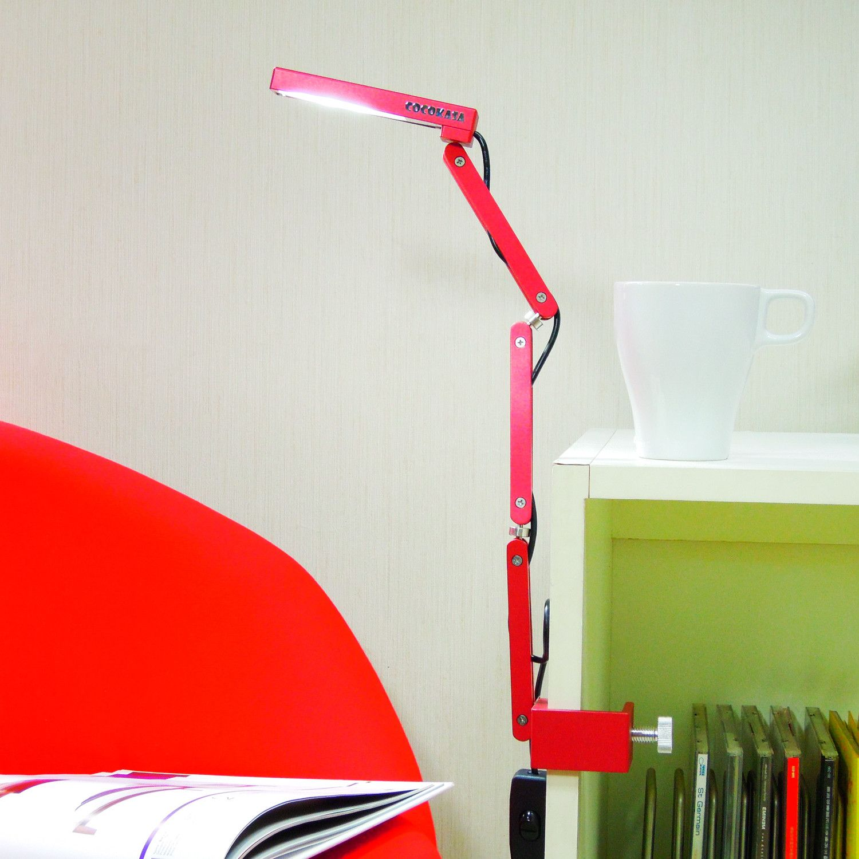 Awesome lamp. Clamp lamp, Lamp, Loft design bedroom