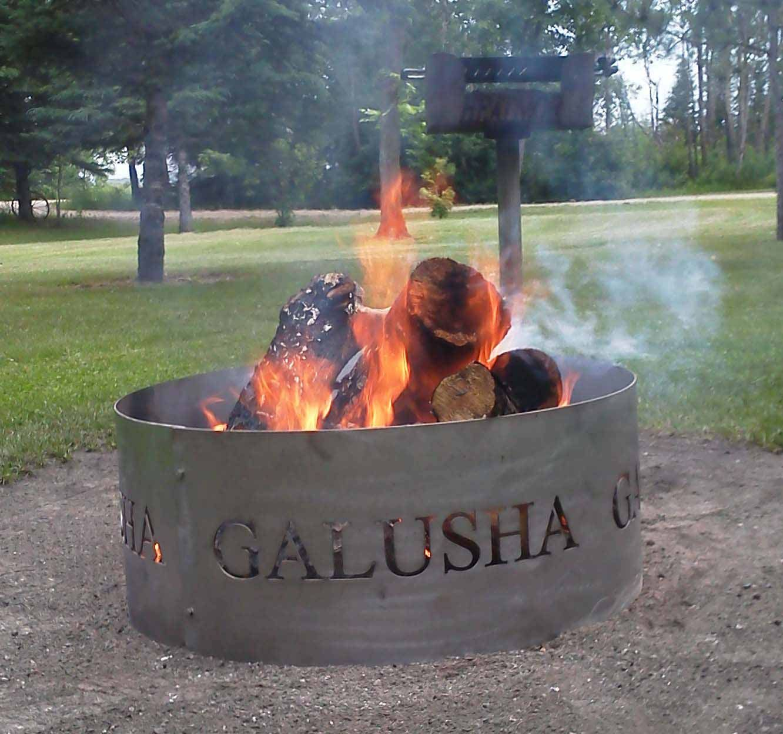 Custom Fire Pit Rings Custom fire pit, Fire pit ring
