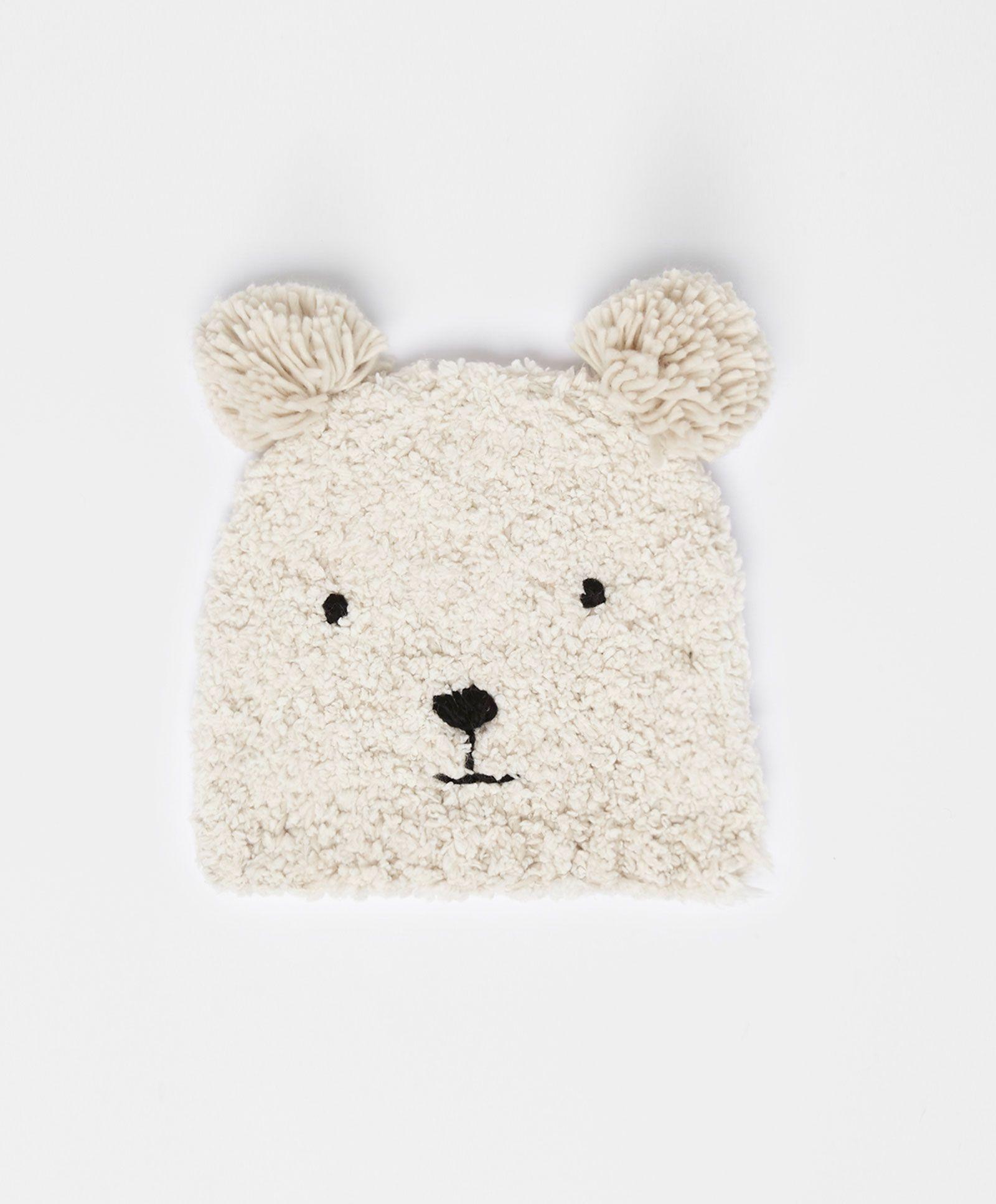 191290fa450 bear beanie  3 Oysho